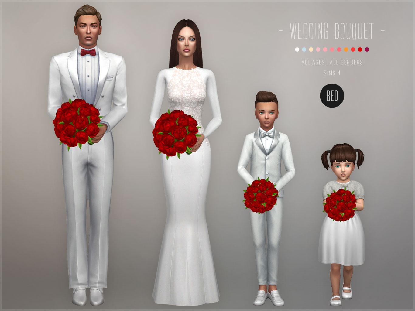 Sims 4 Wedding Veil.Beo Creations