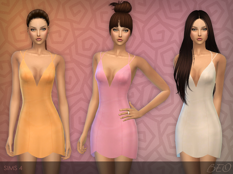 Little dress for The Sims 4 (2)