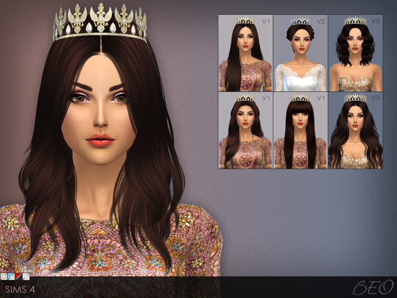 Tiara Eagle for The Sims 4 by BEO