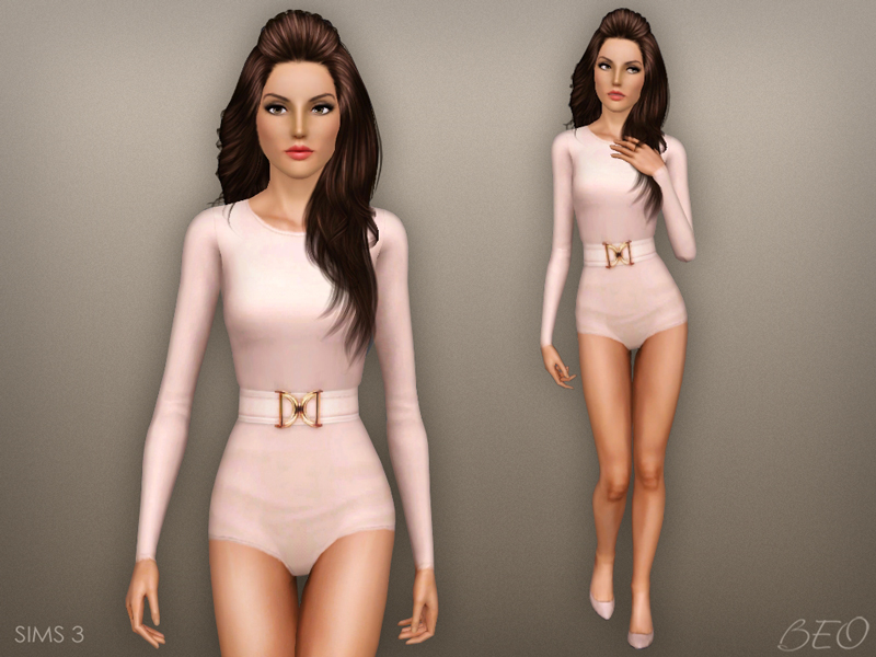 Balmain inspiration collection for The Sims 4 by BEO (1)