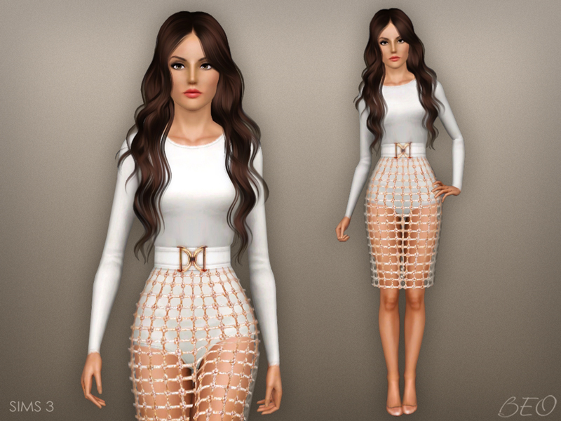 Balmain inspiration collection for The Sims 4 by BEO (2)