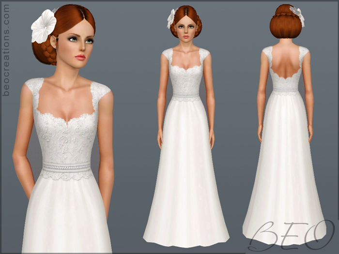 Bride 11 for Sims 3 by BEO