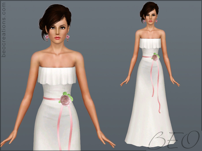 Bride 12 for Sims 3 by BEO