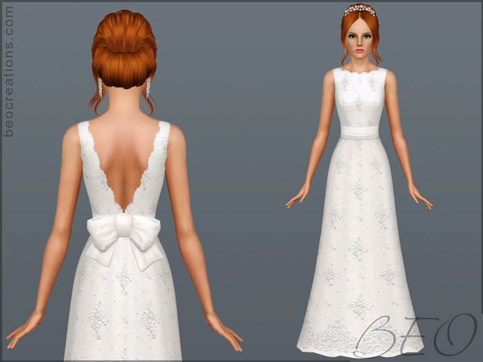 Bride 13 for Sims 3 by BEO