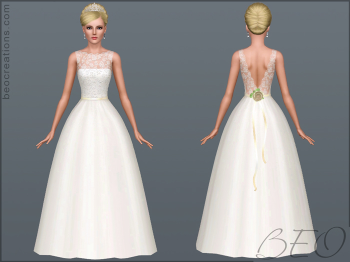 Bride 14 for Sims 3 by BEO