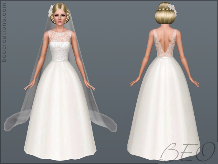 Bride 14 without rose for Sims 3 by BEO