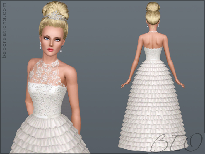 Bride 15 (var. 2) for Sims 3 by BEO