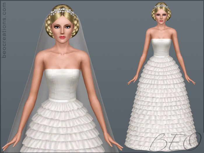 Bride 15 for Sims 3 by BEO