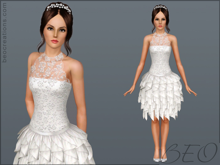 Bride 16 (var. 2) for Sims 3 by BEO