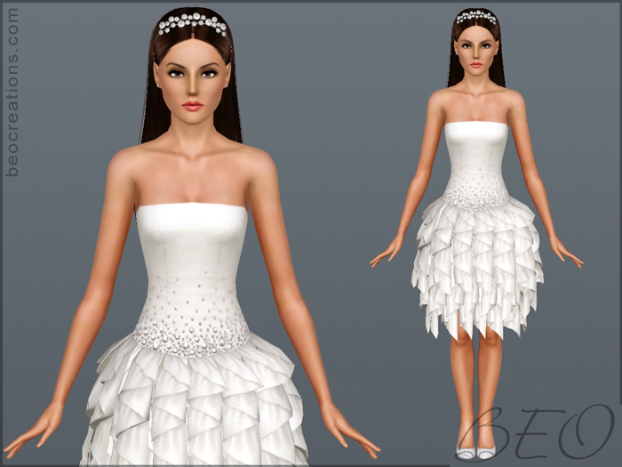 Bride 16 for Sims 3 by BEO