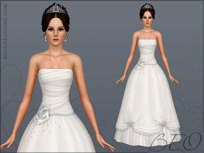 Bride 8 for Sims 3 by BEO