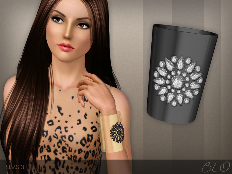 Cuff bracelet for Sims 3 by BEO (1)