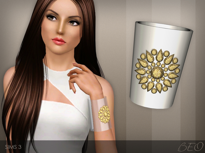 Cuff bracelet for Sims 3 by BEO (2)