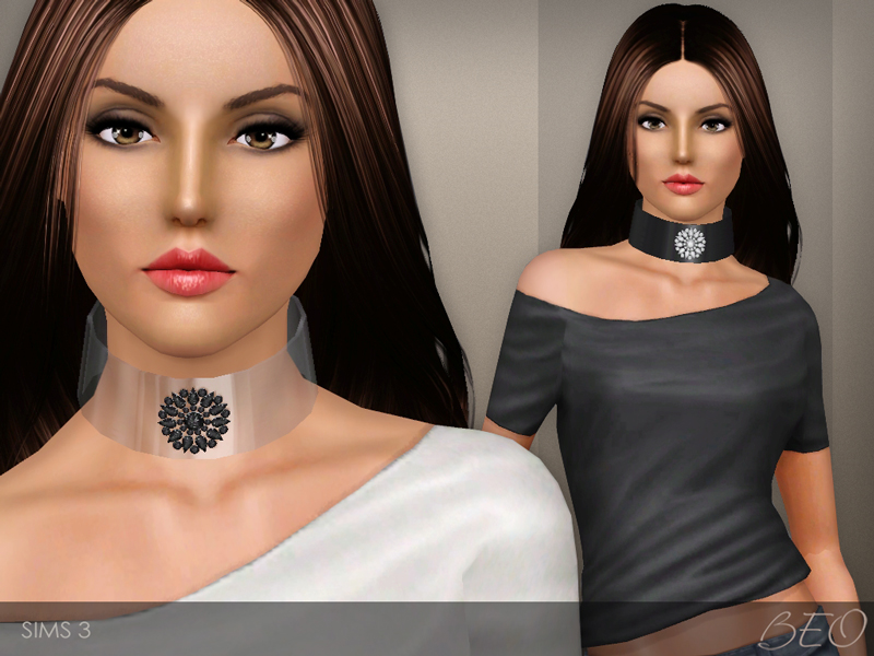 Cuff necklace for The Sims 3 by BEO