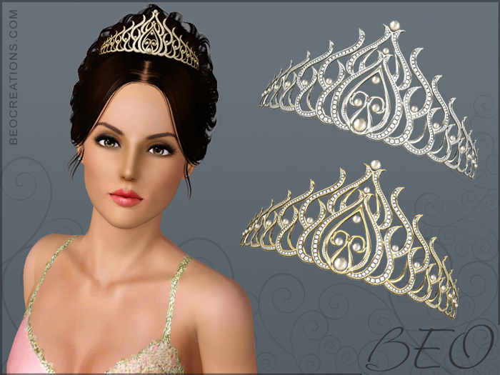 Tiara for Sims 3 by BEO