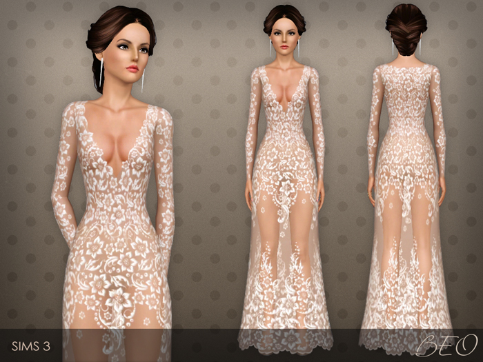 Dress 026 for The Sims 3 by BEO (1)