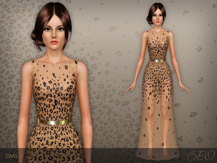 Dress 027 for The Sims 3 by BEO
