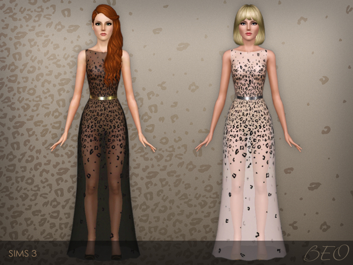Dress 027 for The Sims 3 by BEO (2)