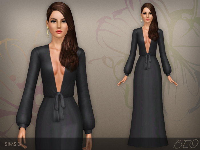 Dress 030 for The Sims 3 by BEO