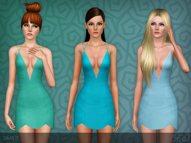 Little dress for The Sims 3