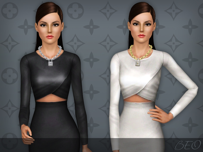 Lockit necklace for The Sims 3 by BEO (2)