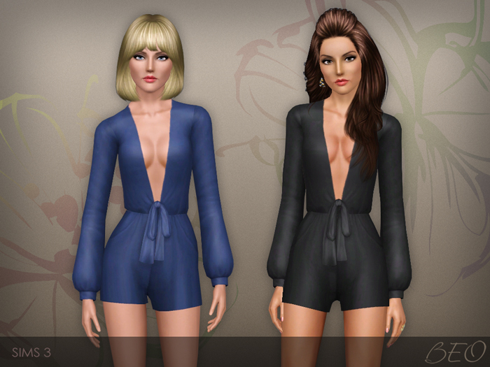 Playsuit 02 for The Sims 3 by BEO