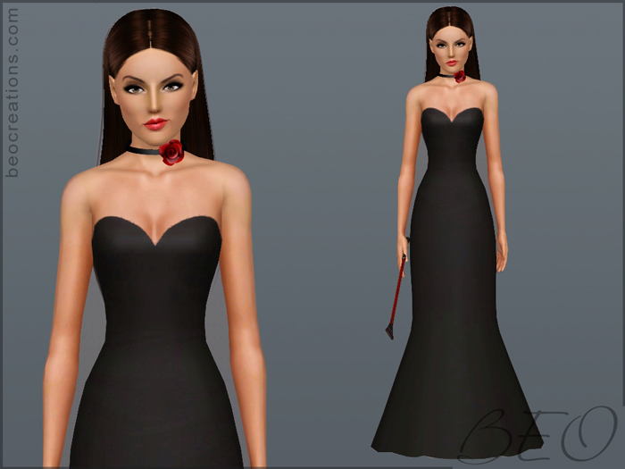 Provocation dress for Sims 3 by BEO