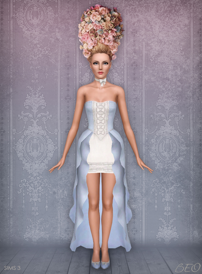Stylization Rococo 1 for Sims 3 by BEO
