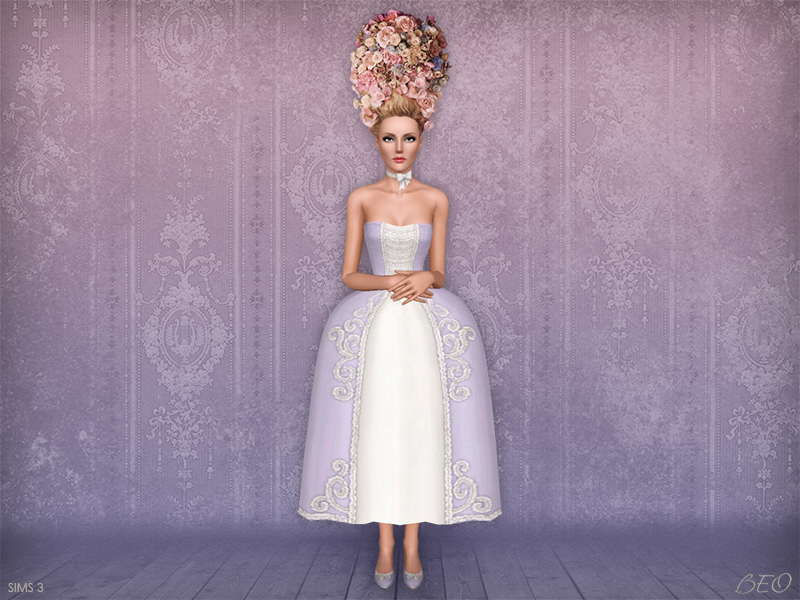 Stylization Rococo 3 for The Sims 3 by BEO
