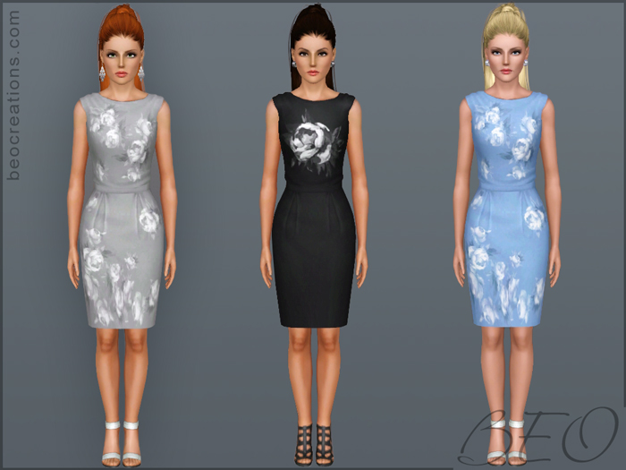 Dress Roses for Sims 3 by BEO