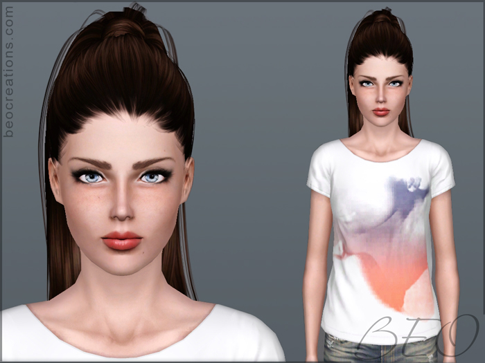 Sim Helen M. for Sims 3 by BEO
