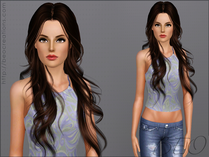 Sim Veronika S. for Sims 3 by BEO