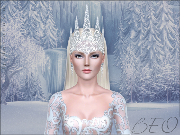Snow queen for Sims 3 by BEO (1)