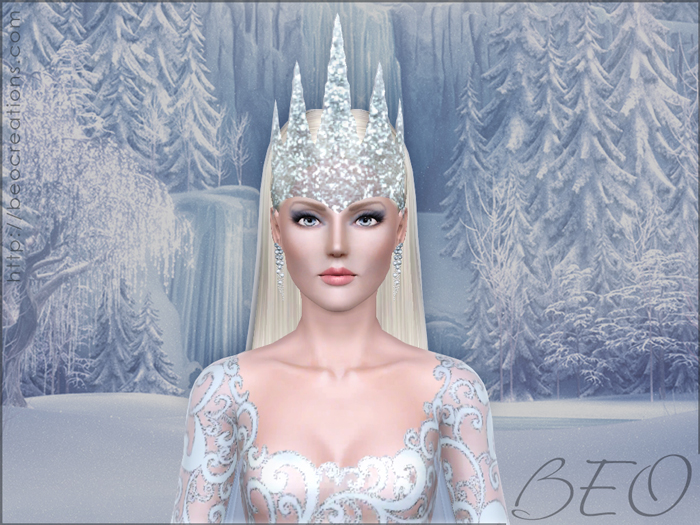 Snow queen for Sims 3 by BEO (2)