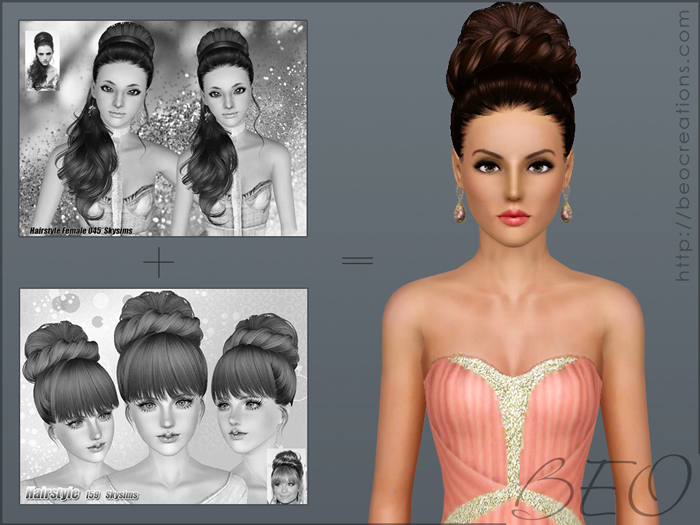 synthesis Skysims hairstyles 045-159 for Sims 3 by BEO (1)