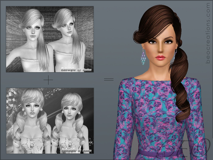 synthesis Skysims hairstyles 131-151 for Sims 3 by BEO