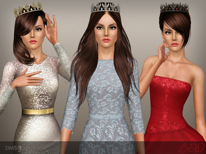 Tiara Eagle for The Sims 3 by BEO