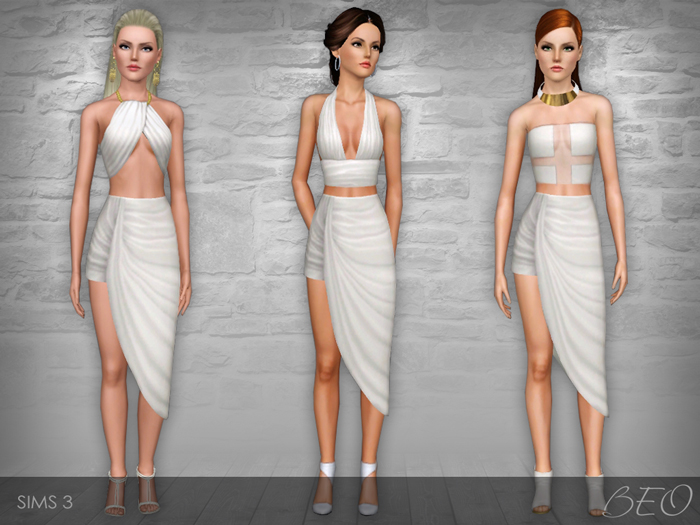 White Collection for The Sims 3 by BEO