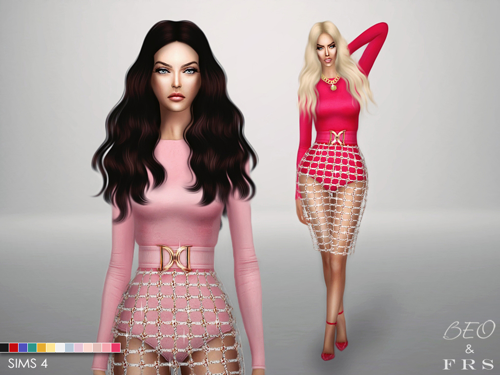 Balmain inspiration collection for The Sims 4 by BEO (3)