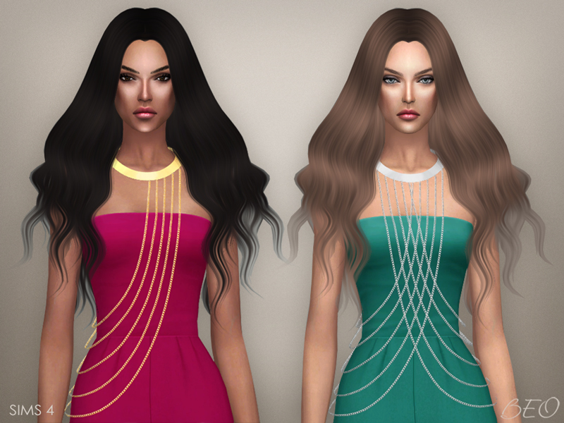 Body chains for The Sims 4 by BEO (1)