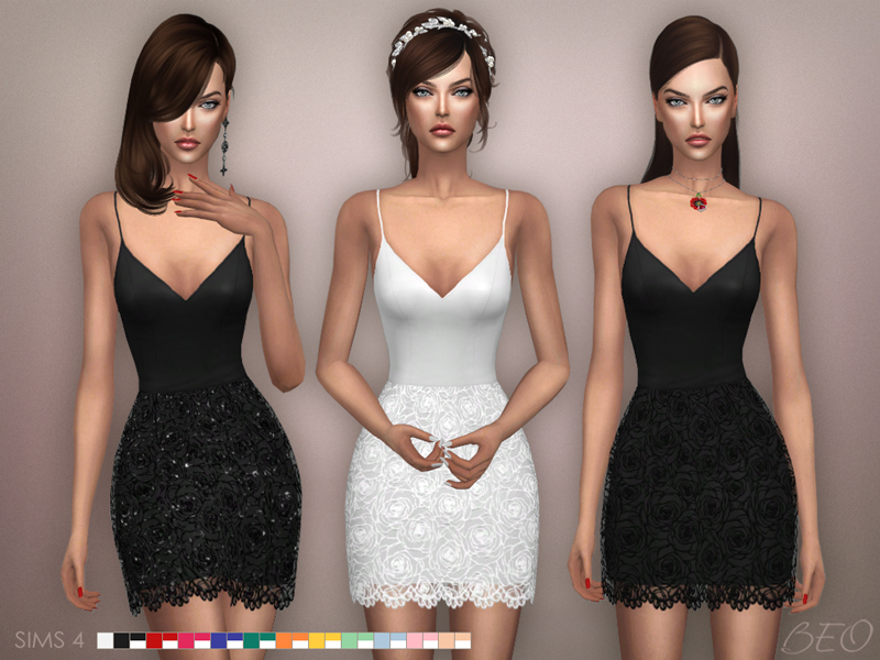 Dress - Julianne for The Sims 4 by BEO (1)