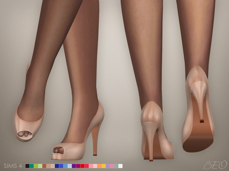 Shoes - Anastasia for The Sims 4 by BEO